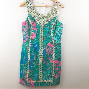 Size 10 LILLY PULITZER shift sundress EUC